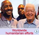 Worldwide humanitarian efforts